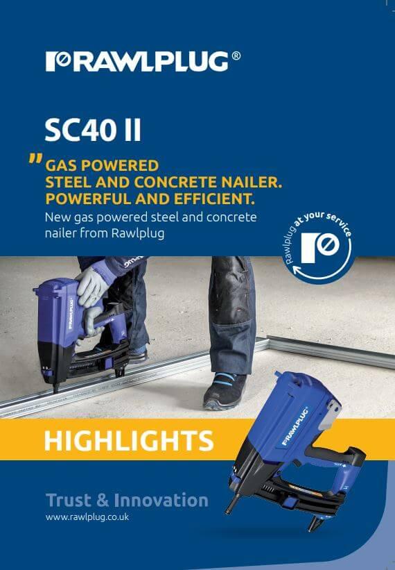 SC40 II Brochure