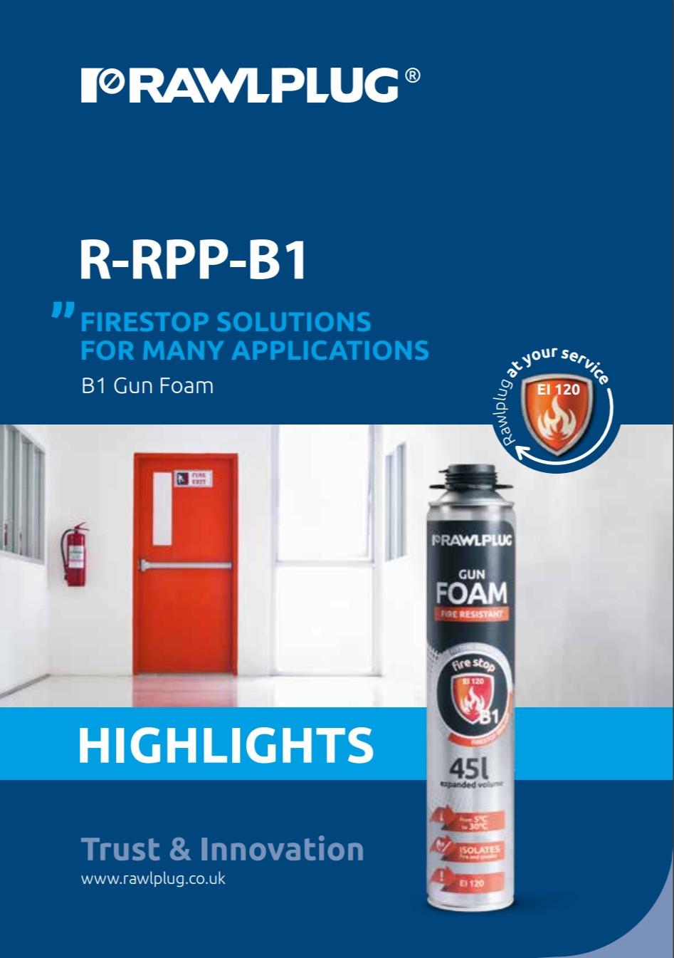 R-B1 Fire Stop Foam