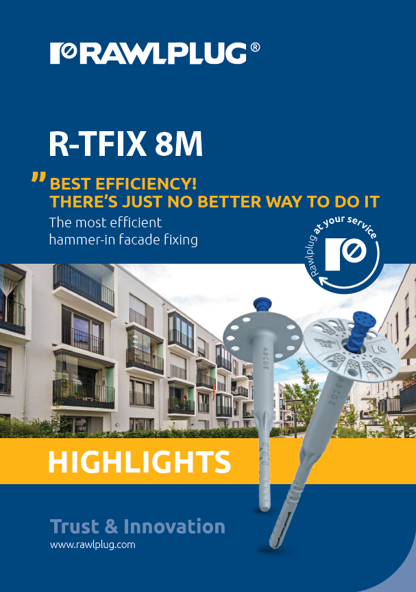 R-TFIX 8M Highlights