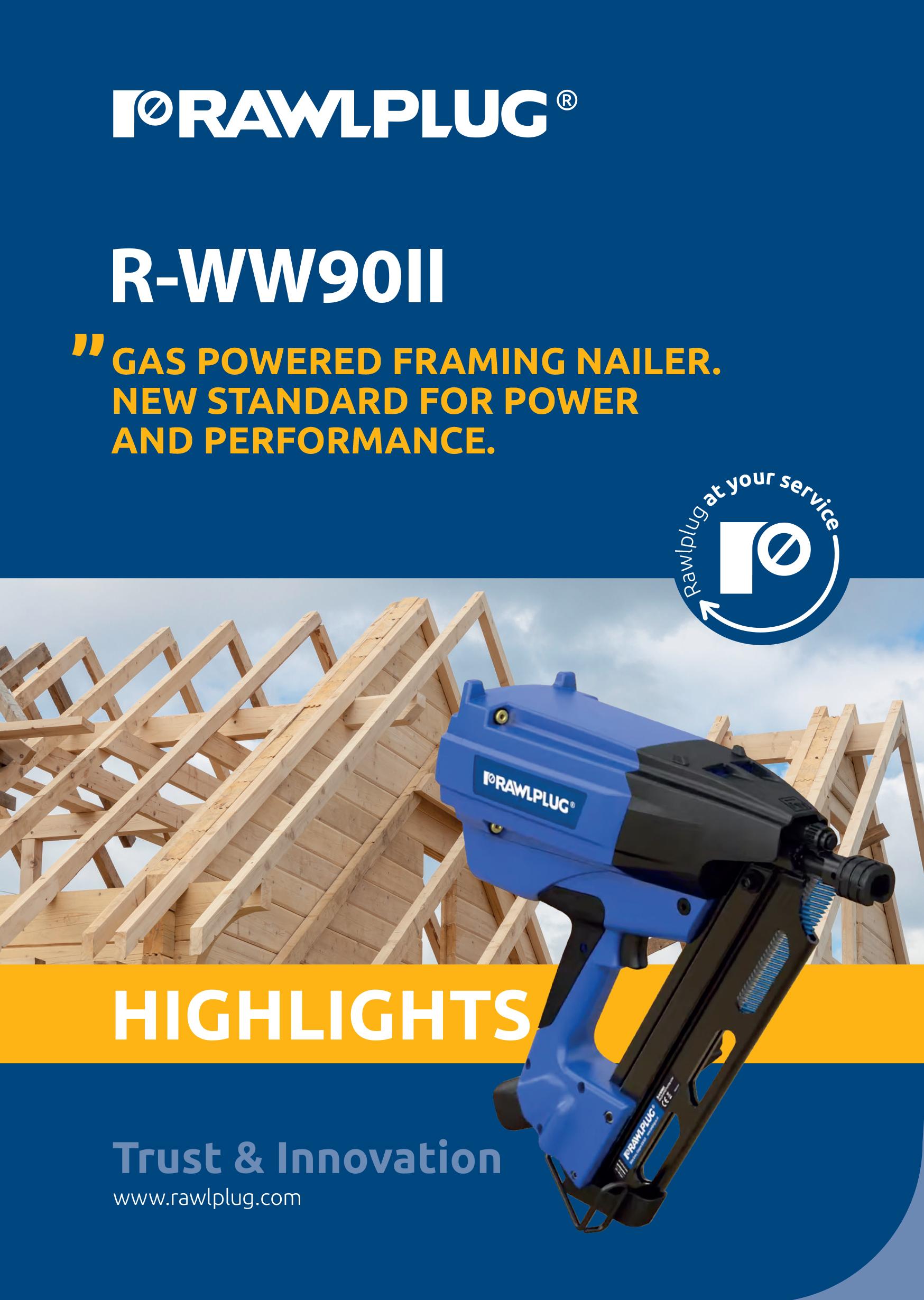Rawlplug WW90 ll Brochure