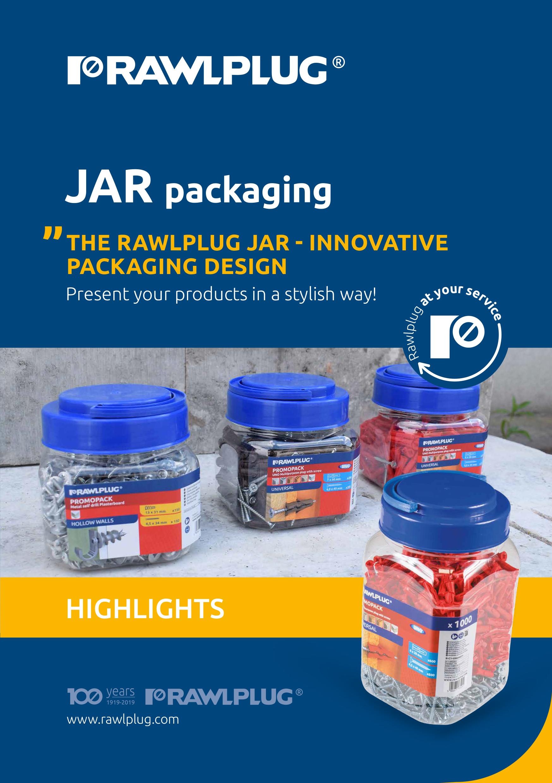 Rawlplug DIY Jar options