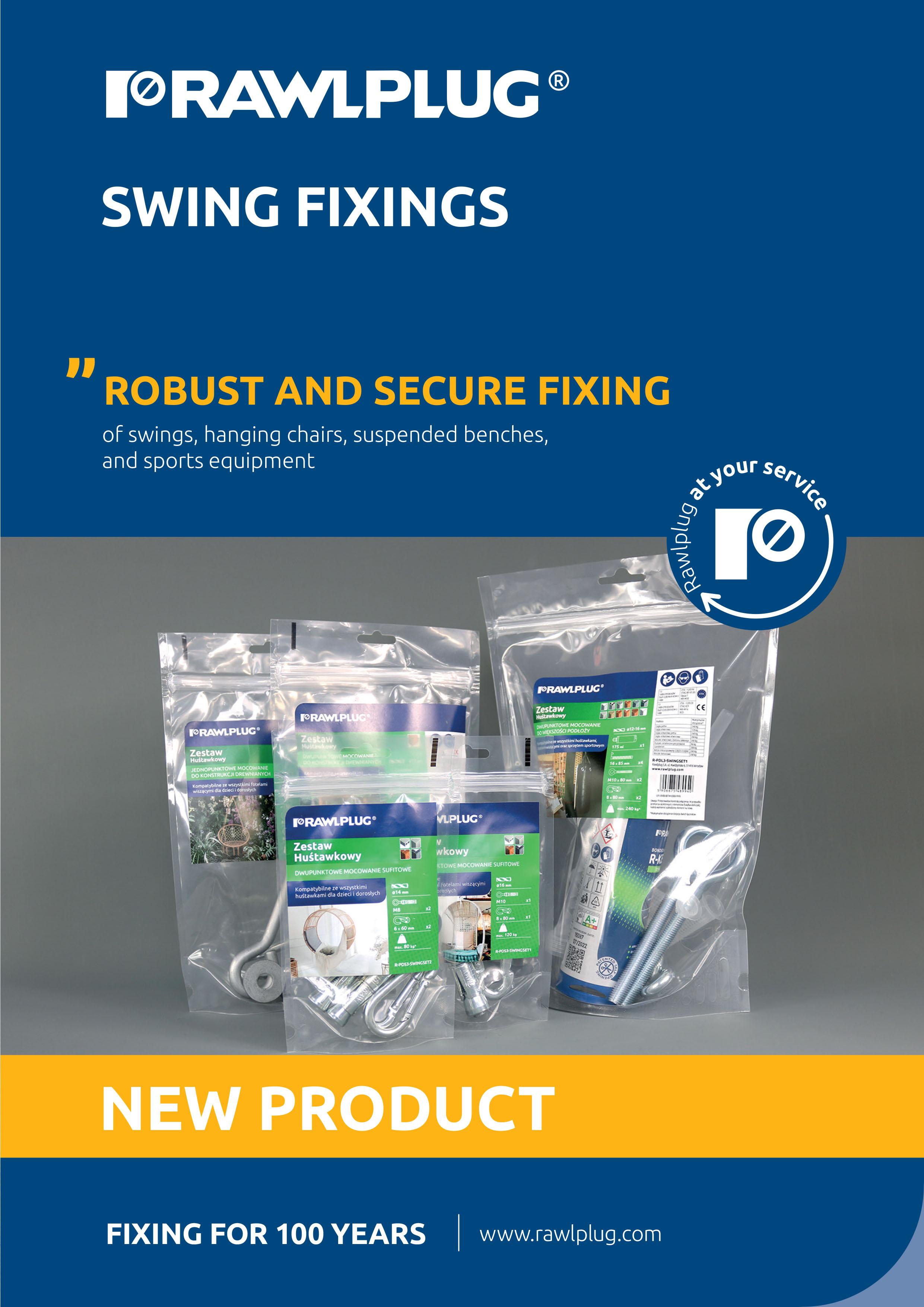 Rawlplug Swing Fixings